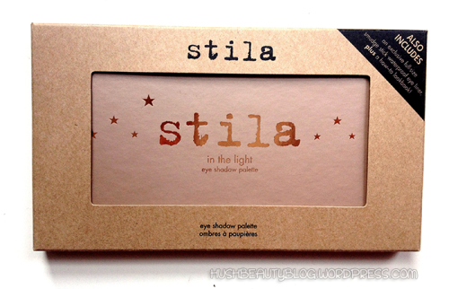 Product review of Stila's In the Light Eyeshadow Palette. Beauty reviews, tips and tricks, steals deals and more at HUSH Beauty Blog. Photo copyright HUSH Beauty 2012. hushbeautyblog.wordpress.com