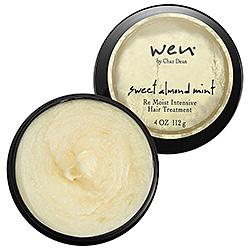 Wen Sweet Almond Mint Re Moist Intensive Hair Treatment. Photo courtesy of Sephora.